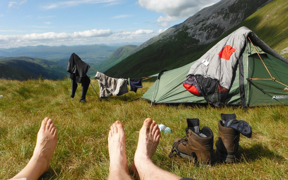 15-things-Outward-Bound-Feet-poking-out-of-tent