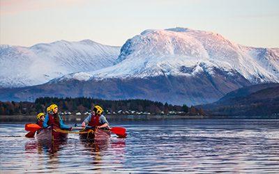 Loch Eil 400x250 canoe by Ben Nevis
