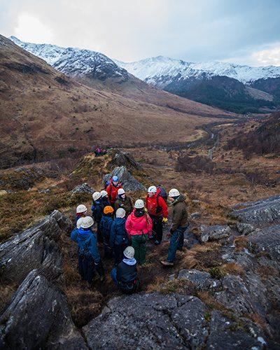 Loch Eil 400x500 rock scramble