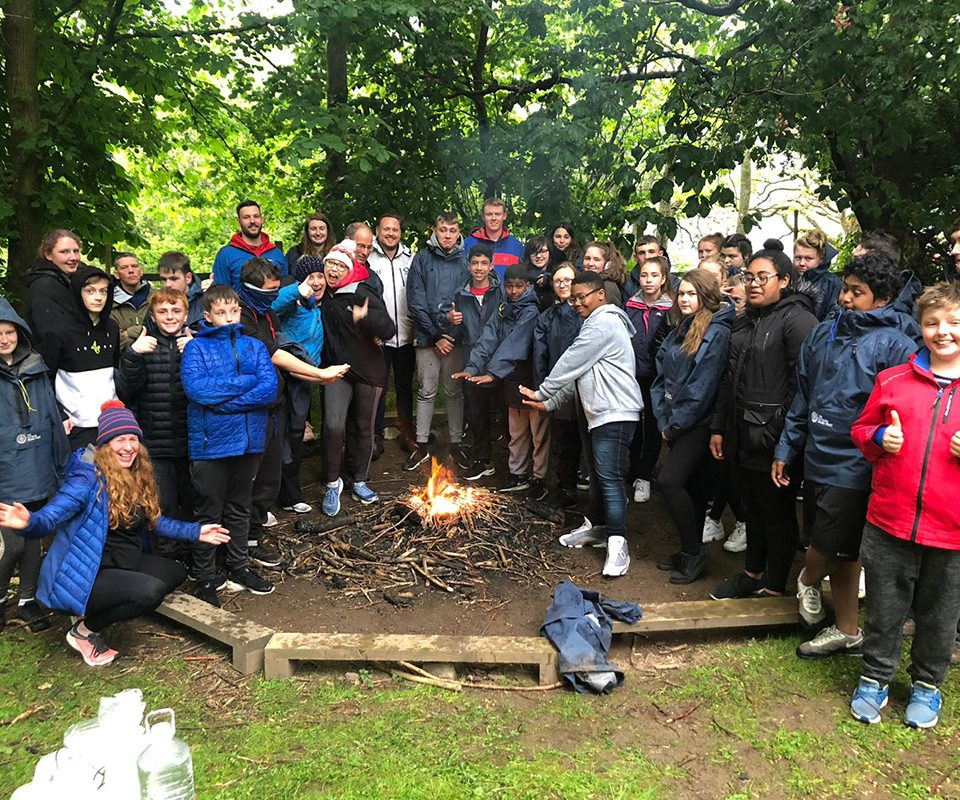 EBD Wester Hailes Education Centre campfire 960x800