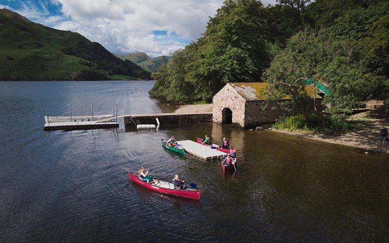 SA ullswater canoe from above 800x500