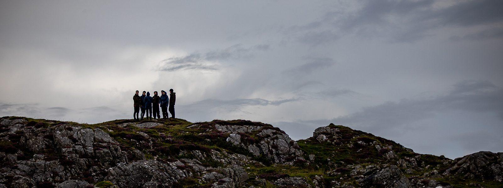 Loch eil 1600 group hill