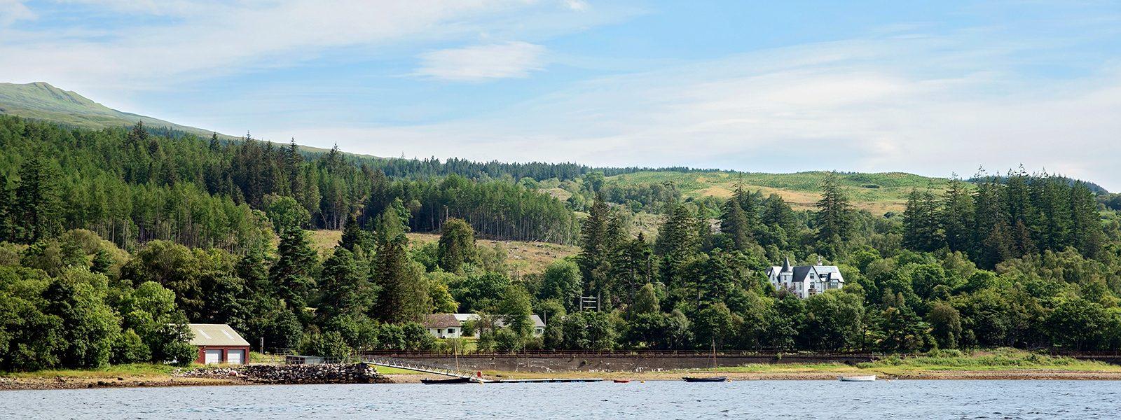 Loch eil 1600x600 from water